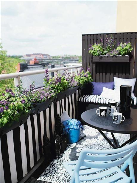 Interni d 39 autore arredamenti balconi e terrazzi - Arredare balconi e terrazzi ...