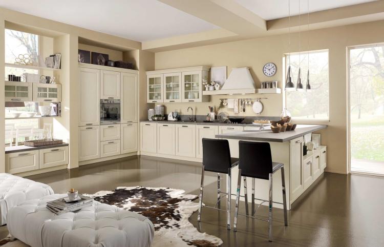 Interni d 39 autore arredamenti cucine stosa for Interni case classiche
