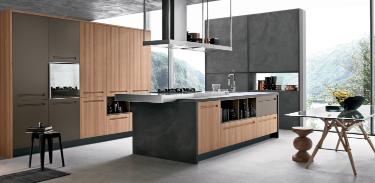 Interni d 39 autore arredamenti stosa cucine modello mood for Design interni salotti