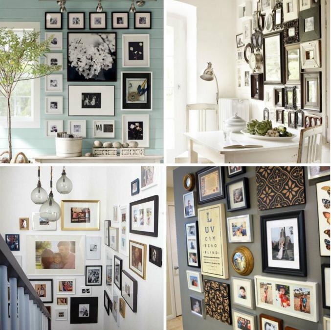 Come arredare una parete vuota idea creativa della casa for Arredare parete